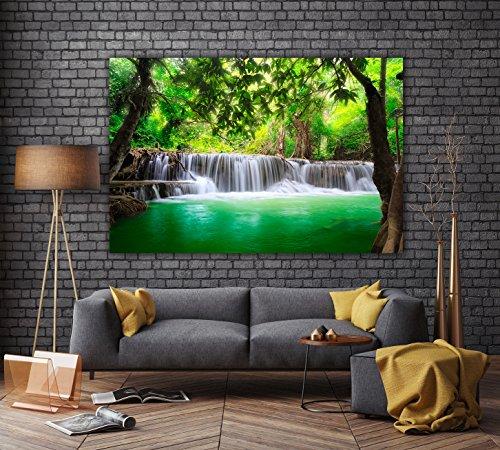PMP4life XXL Poster Wasserfall in Thailand Natur HD 140cm x 100cm Hochauflsende Wand