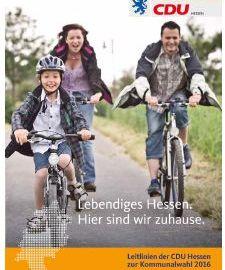 CDU Hessen beschließt Leitsätze zur Kommunalwahl 2016