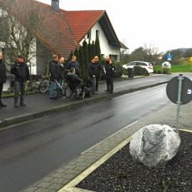 Ortstermin Verkehr Hessenstrasse Niederkalbach