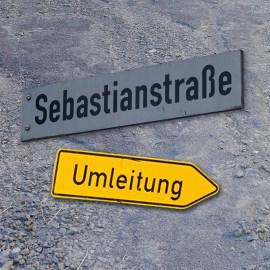 Update : Unwetterschäden in der Sebastianstraße