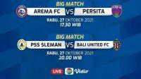 Link Live Streaming Indosiar PSS Sleman vs Bali United FC dan Cara Nonton BRI Liga 1