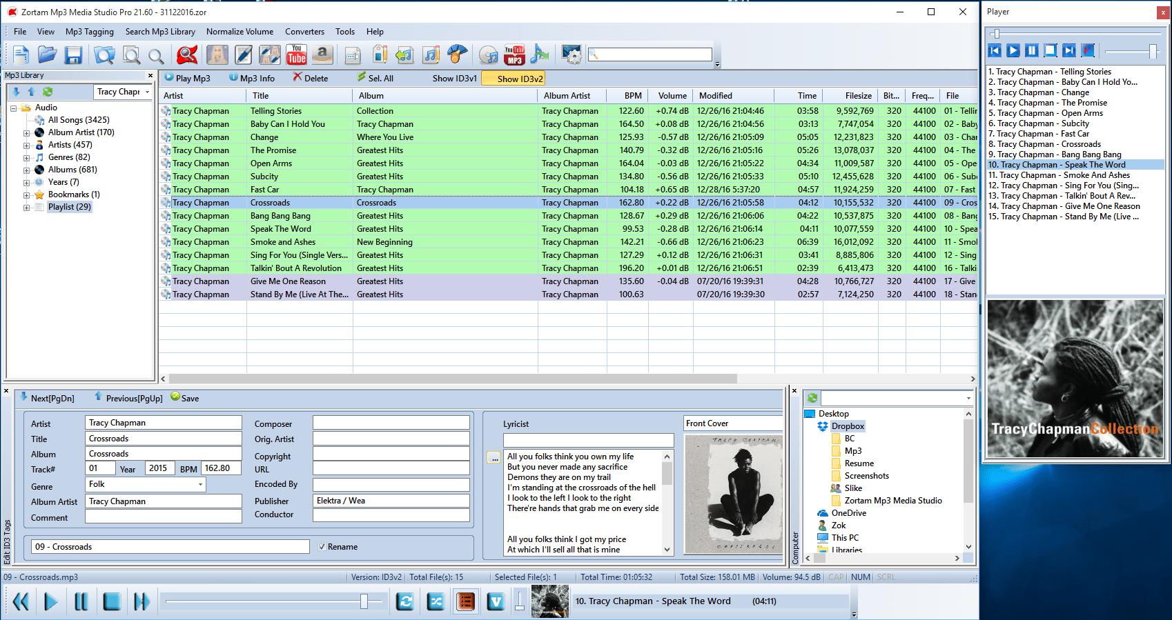 """Zortam Mp3 Media Studio е програма тип """"всичко в едно"""""""