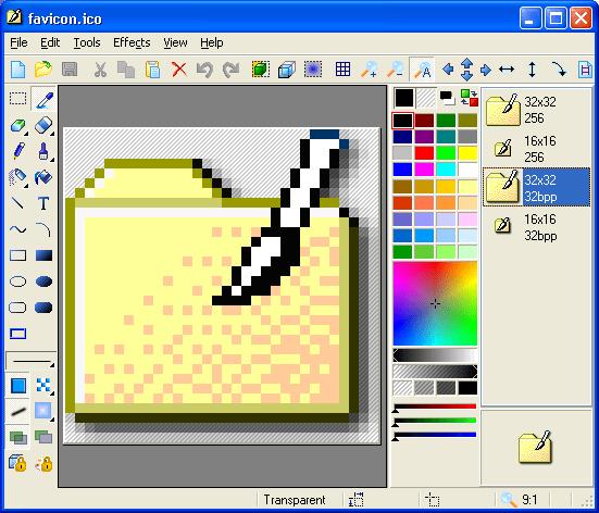 IconXP e редактор на икони. C негова помощ може да