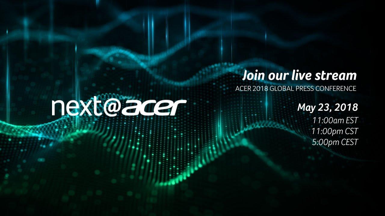 Вече сме в Ню Йорк за годишното събитие на Acer,