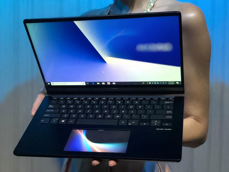 Компанията анонсира първия ZenBook Pro лаптоп с технологията ScreenPad, която