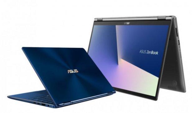 Asus представи два нови ноутбука ZenBook Flip 2-в-1 по време