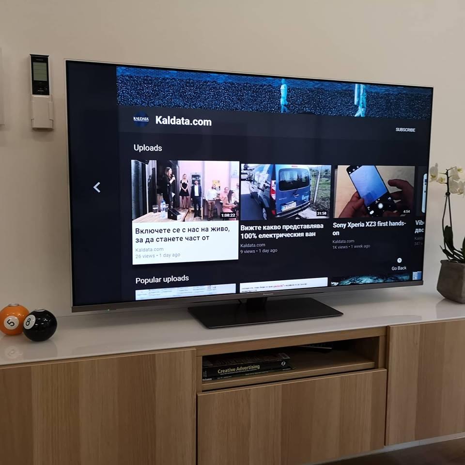 Моделите 4К HDR OLED телевизори на Panasonic от 2018 година,