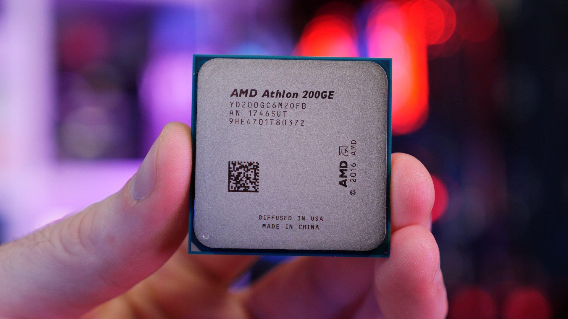 Неотдавна AMD представи своя нов хибриден процесор APU Athlon 200GE