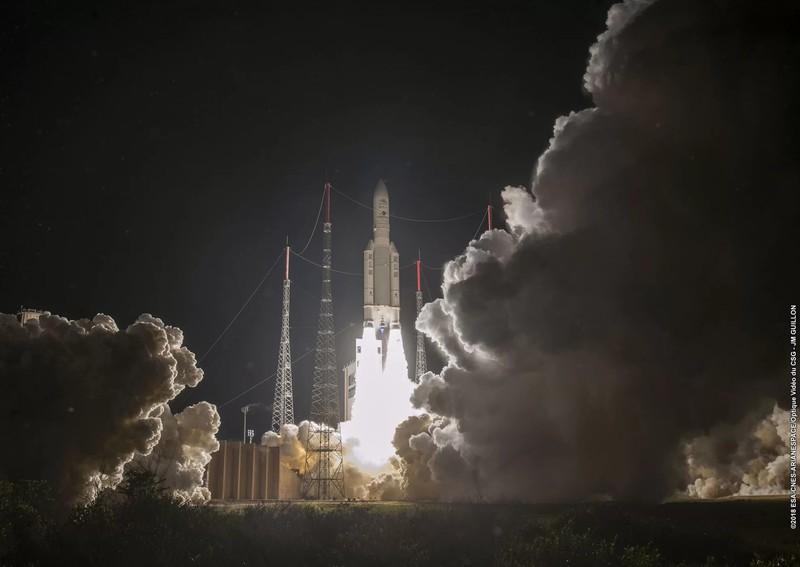 От космодрума във Френска Гвинея стартира новата мисия BepiColombo до