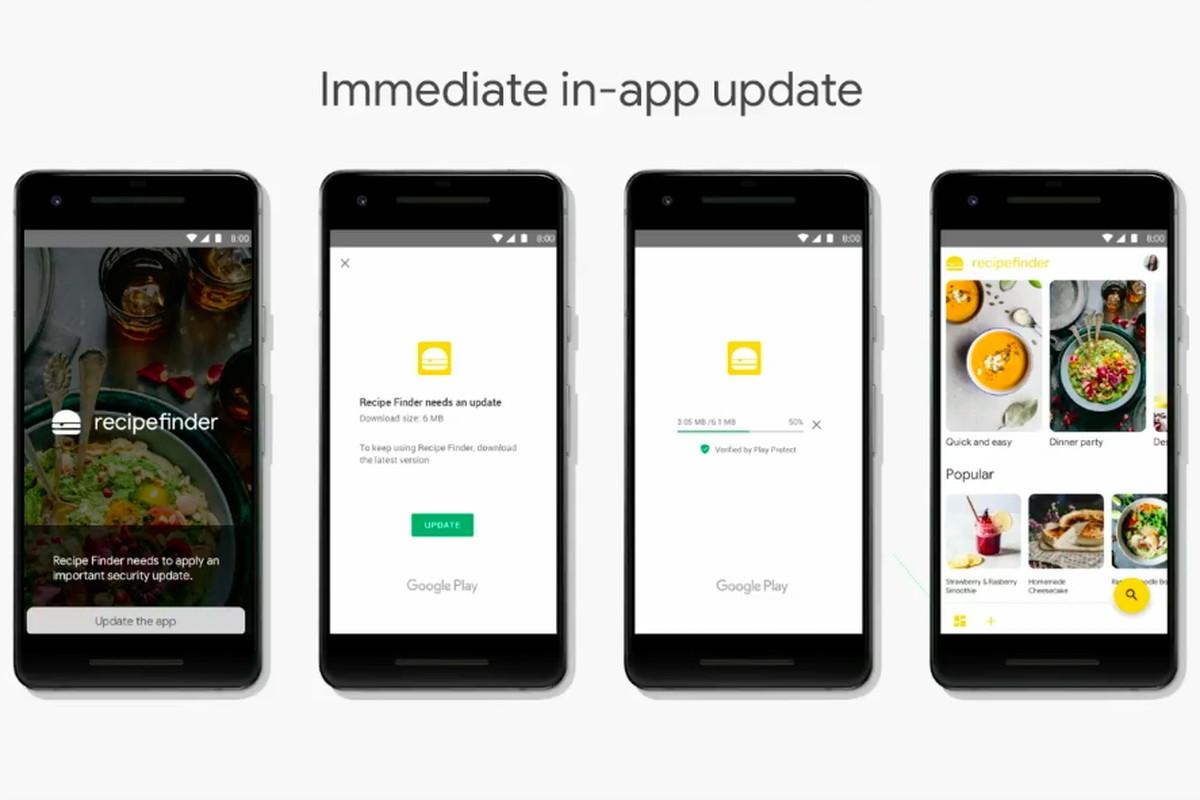 Android приложенията ще могат да се обновяват докато работят