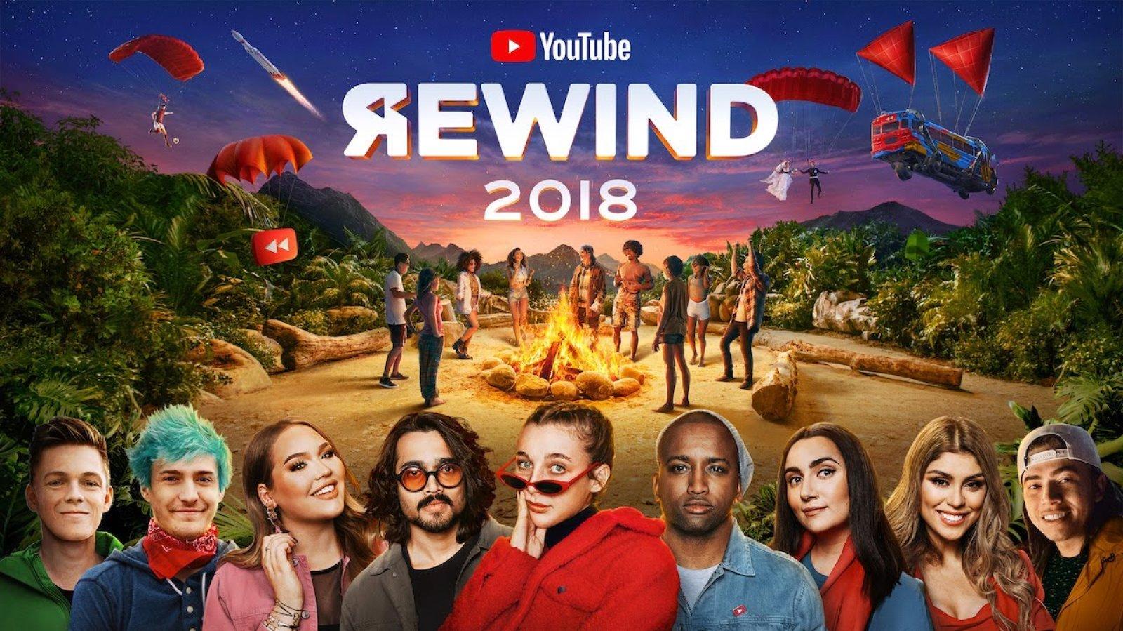"""Най-новото Rewind видео на YouTube, което обобщава """"клиповете, музиката и"""
