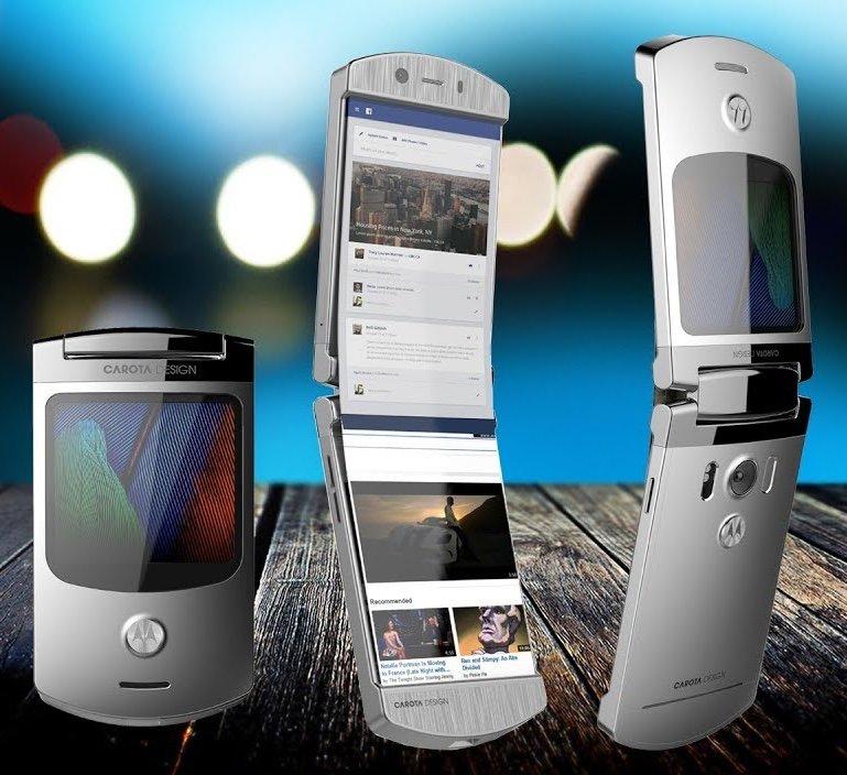 Снимка: Легендата Motorola RAZR май ще се завърне наистина