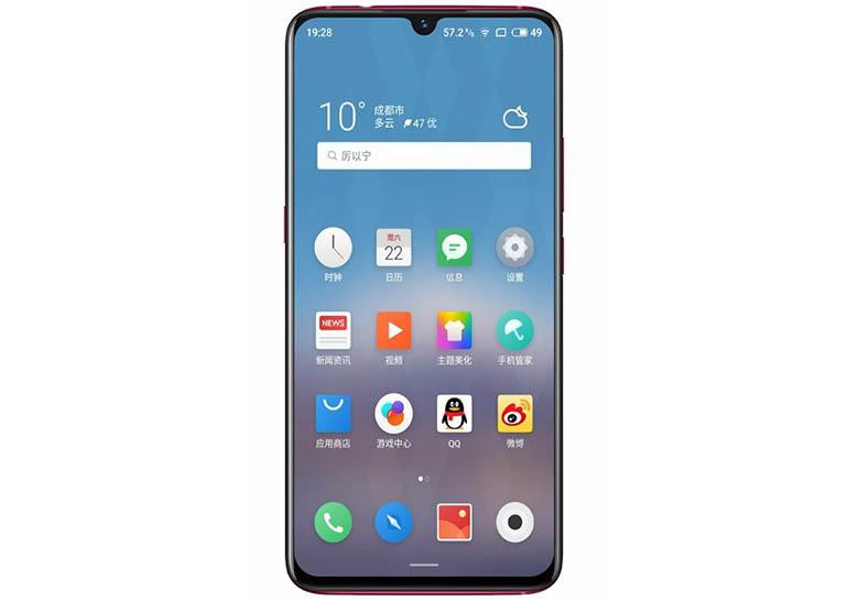 Снимка: Meizu Note 9 ще има дисплей с капкообразен прорез, Snapdragon 675 и 48 МР камера