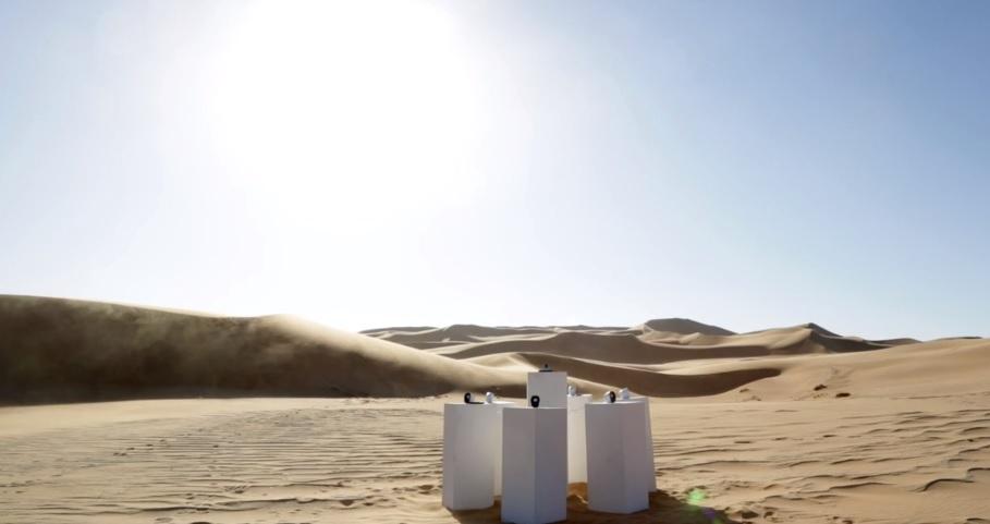 Снимка: Ето защо Africa на Toto звучи безспирно в средата на пустинята Намиб