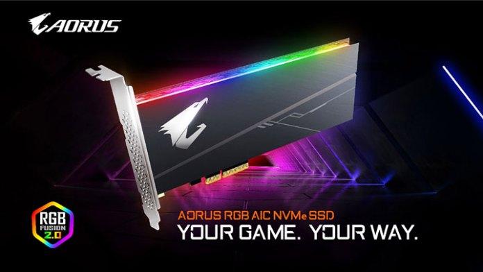 Gigabyte Aorus RGB SSD  Patriot Viper VPR 100:  SSD