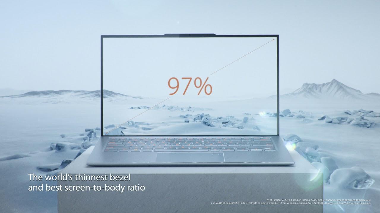 Снимка: ASUS показа на живо Zenbook S13 - лаптопът с най-тънките рамки около екрана