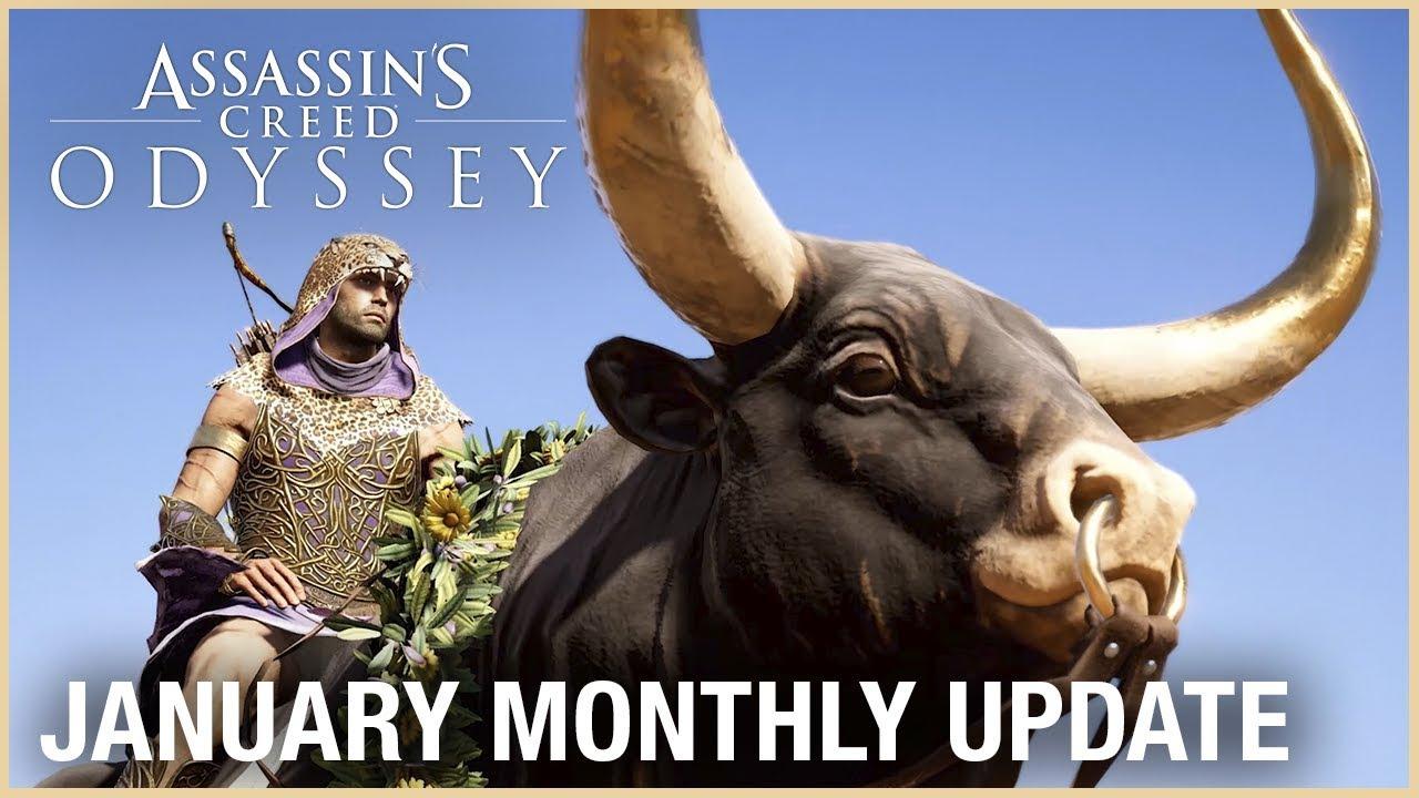 Снимка: Ubisoft публикува януарското обновление за Assassin's Creed Odyssey