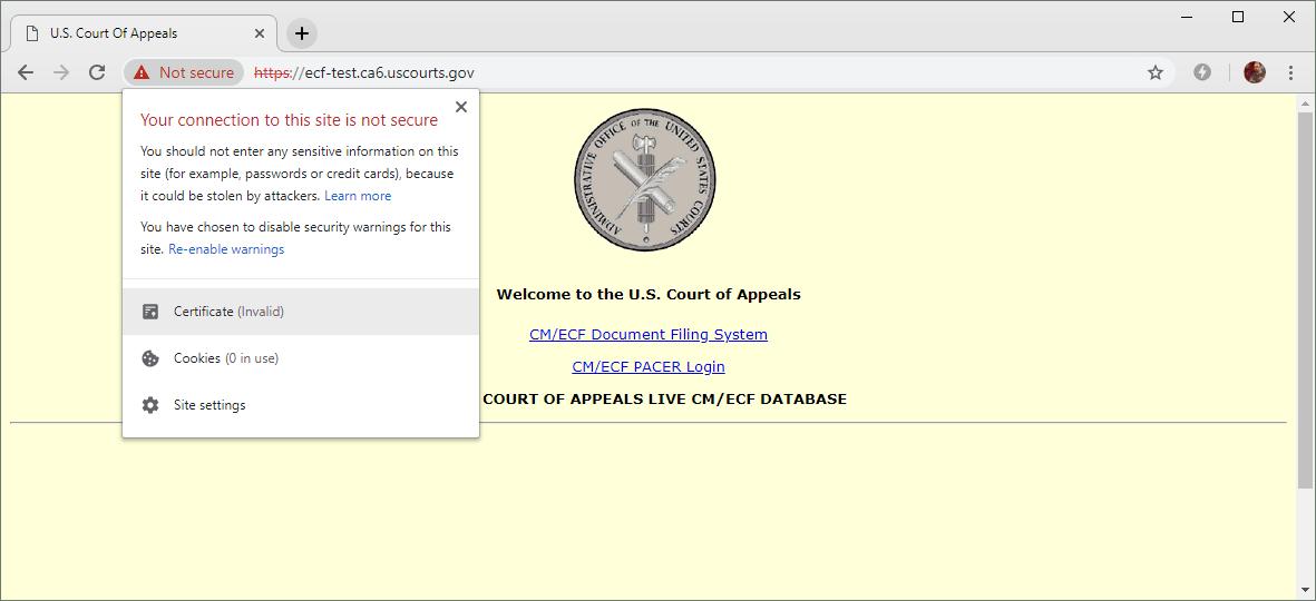 Снимка: Над 80 TLS сертификата не бяха продължени заради прекъсването работата на американското правителство