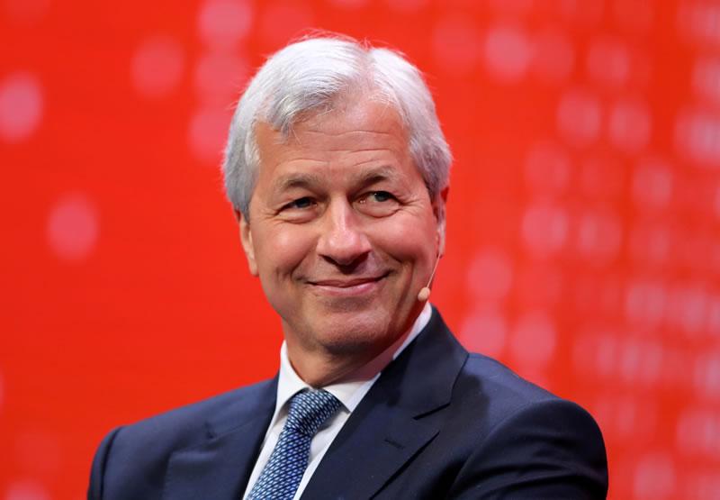 Изпълнителният директор на JPMorgan Chase Джейми Даймън има гласно негативно