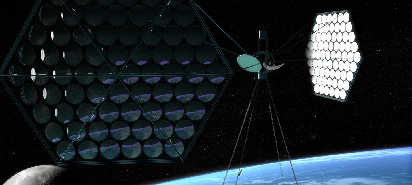 Китайските учени разработват орбитална слънчева електроцентрала, която ще генерира електрическа