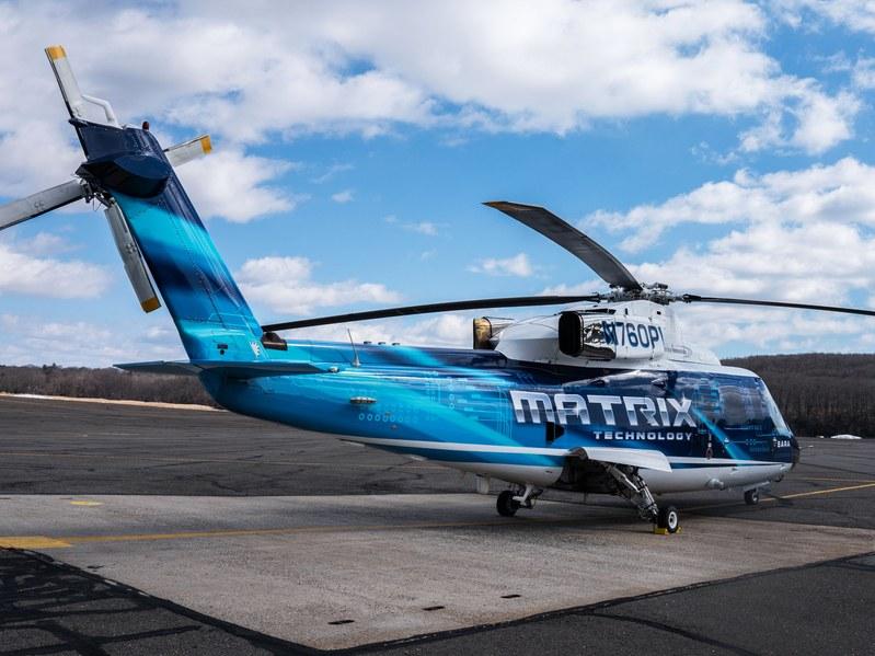 Sykorsky демонстрира безпилотен вертолет с човек на борда