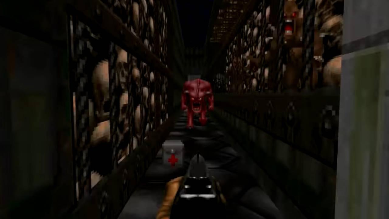 Снимка: Мод превръща цялата Doom в един дълъг коридор към Ада