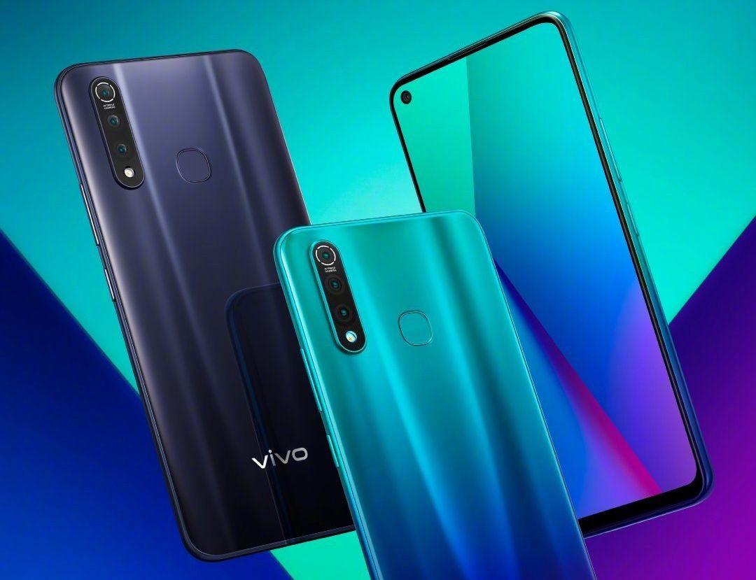Vivo Z5x е първият смартфон на компанията Vivo с отвор