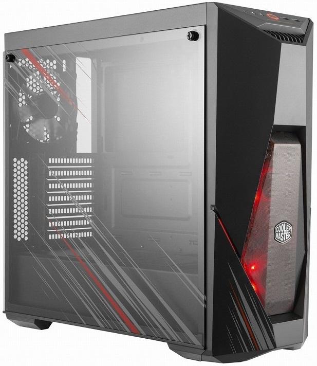 Компанията Cooler Master допълни своето портфолио компютърни кутии с модела
