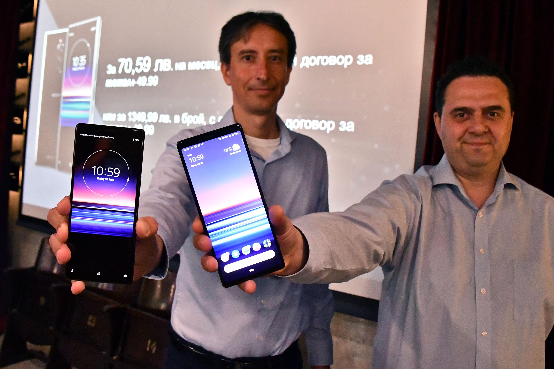 Теленор и Sony представиха смартфона Sony Xperia 1, който вече