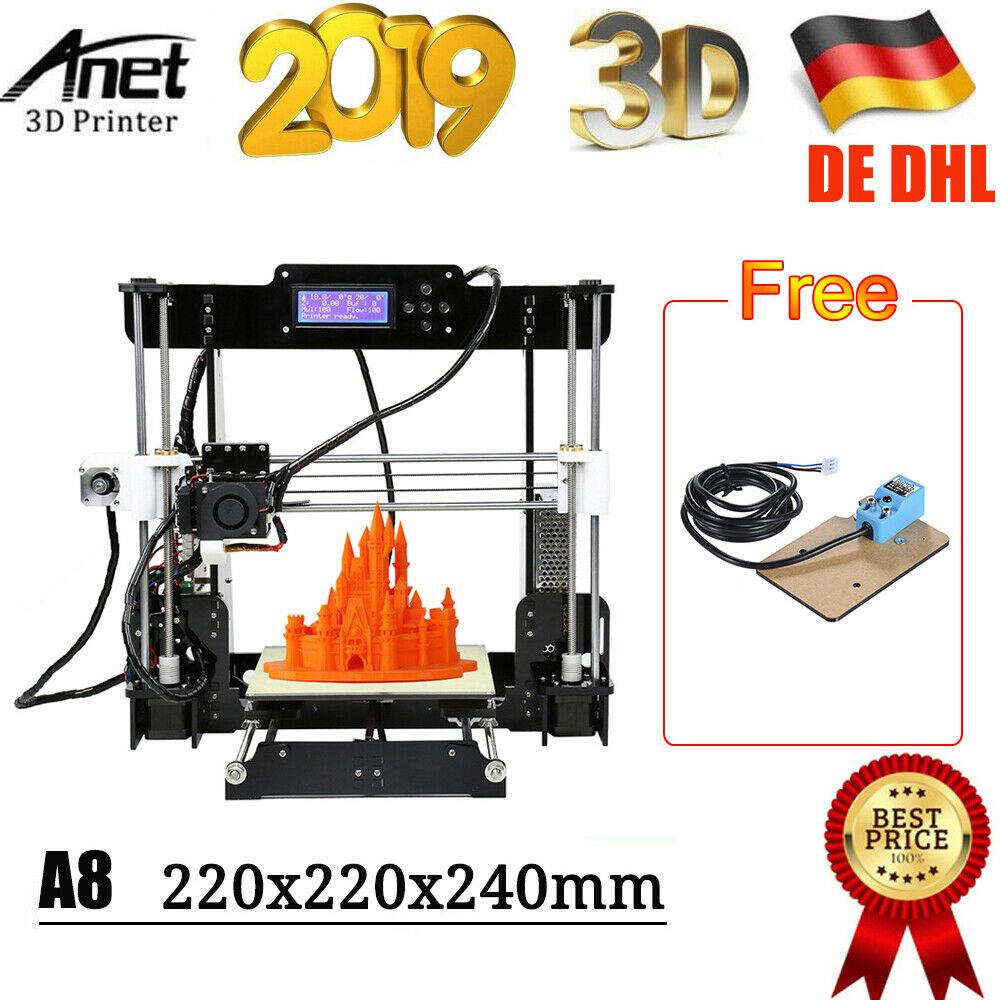 Anet A8 е 3D десктоп принтер с висока точност, подходящ