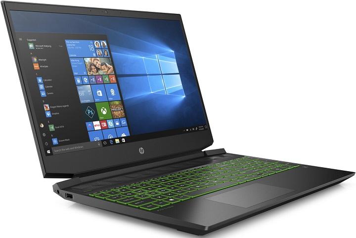 HP Pavilion 15: геймърски лаптоп с APU Ryzen и графика GeForce GTX