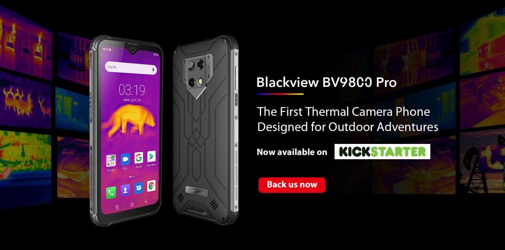 Най-после: смартфонът Blackview BV9800 Pro вече се предлага в Kickstarter