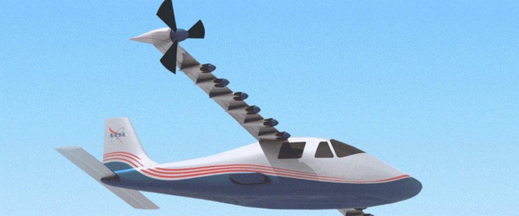 НАСА представи електрическия самолет Maxwell X-57