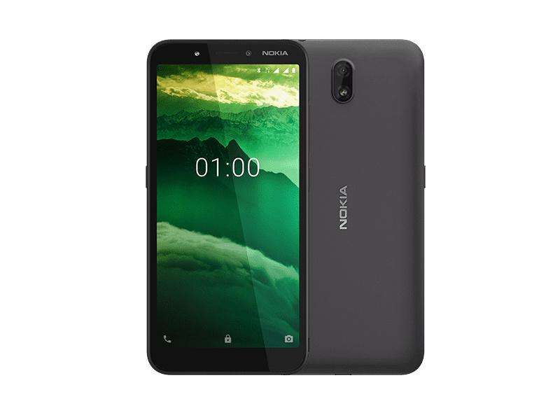 Анонс на 5,45-инчовия смартфон Nokia C1 с Android Go и цена едва $59