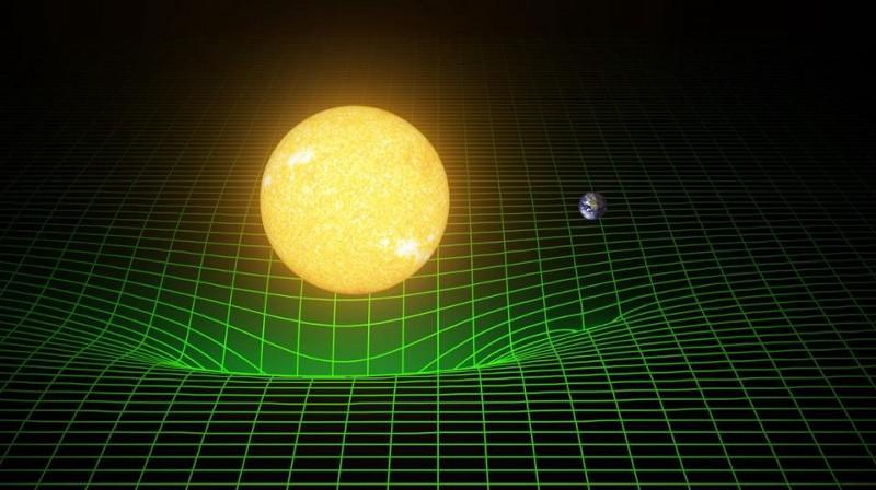 Интерактивно демо показва, че гравитацията не е сила, а изкривяване на пространство-времето