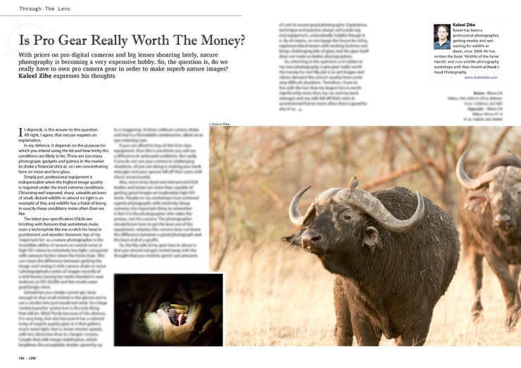 Landscape Photography Magazine-Apr 2013-Is Pro Gear Really Worth The Money-Kaleel Zibe