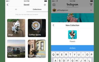 Instagram agrega 'colecciones' que imitan a los tableros de Pinterest