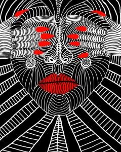 Erica Atreya See No Evil Digital 11x14 $75
