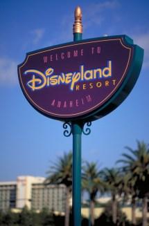 Disneyland Anaheim California Sign
