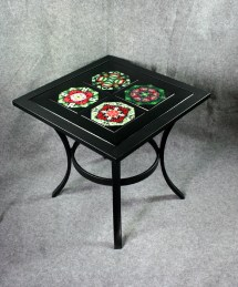 Metal Accent Table Side Coffee Patio