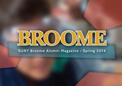 SUNY Broome Alumni Magazine Spring 2014