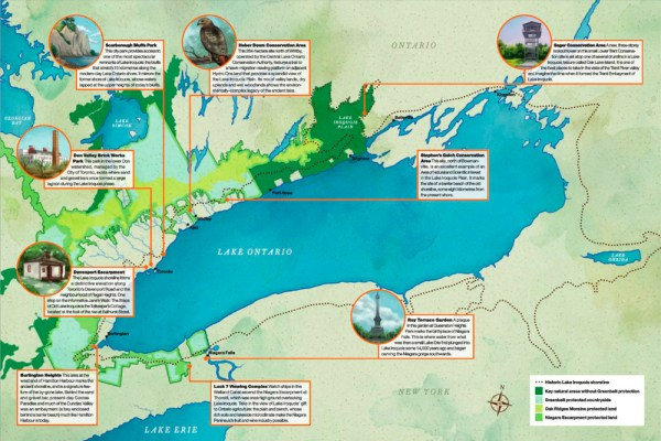 Iroquois Shore Map