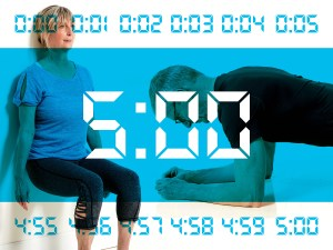 A Fitness Solution for Busy Days: 5-Minute Circuit