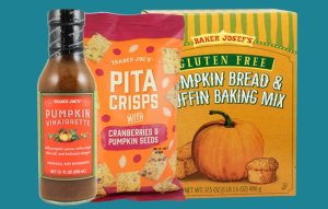 7 Trader Joe's Pumpkin Products, Ranked According to a Nutritionist