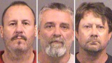 تصویر تلاش سه آمریکایی عضو گروه تروریستی برای حمله به مسجد مسلمانان