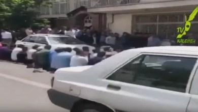 Photo of در ام القری ادعایی ، مسلمانان اهل سنت براى نماز خواندن به صف می ایستند