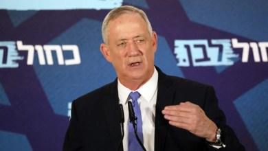 تصویر هشدار «بنی گانتس» درباره جنگ داخلی در اسرائیل