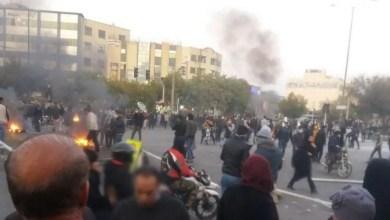 تصویر اعتراضات ایران؛ ادامه بازداشت فعالان صنفی و سیاسی در شهرهای مختلف
