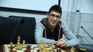 تصویر نایب قهرمان ایرانی شطرنج جهان، ازین پس برای فرانسه بازی میکند