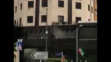 Photo of حمله به ساختمان اداری قرارگاه خاتم الانبیا سپاە پاسداران در تهران